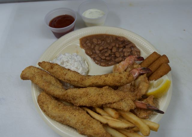 Fish & Shrimp Combo Dinner